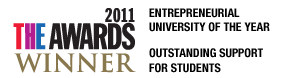 Times Entrepreneurial University of the Year 2011