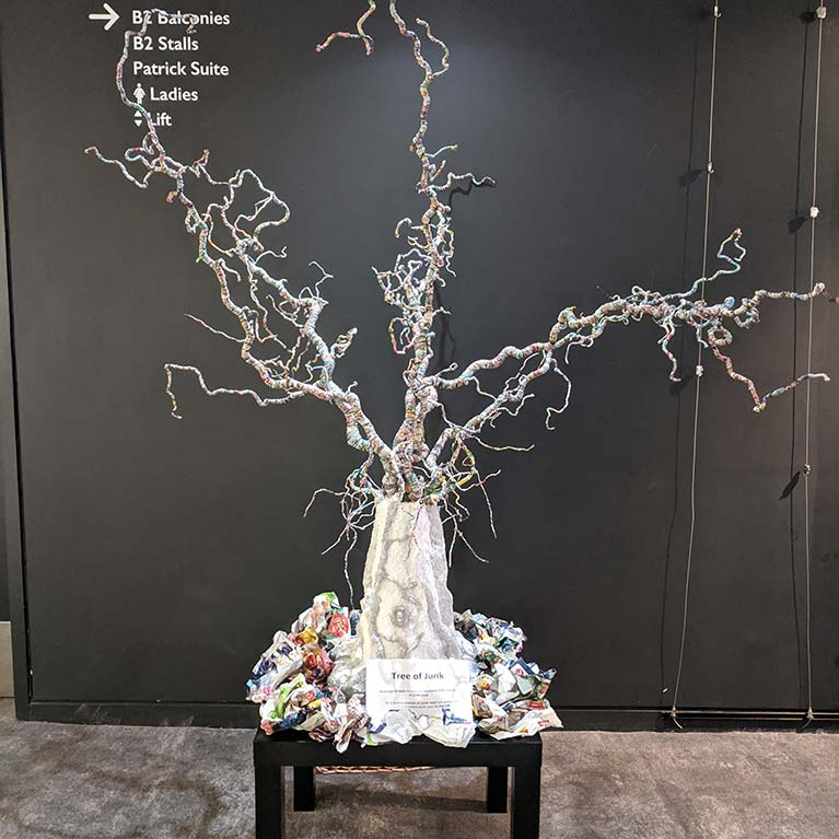 tree of junk project