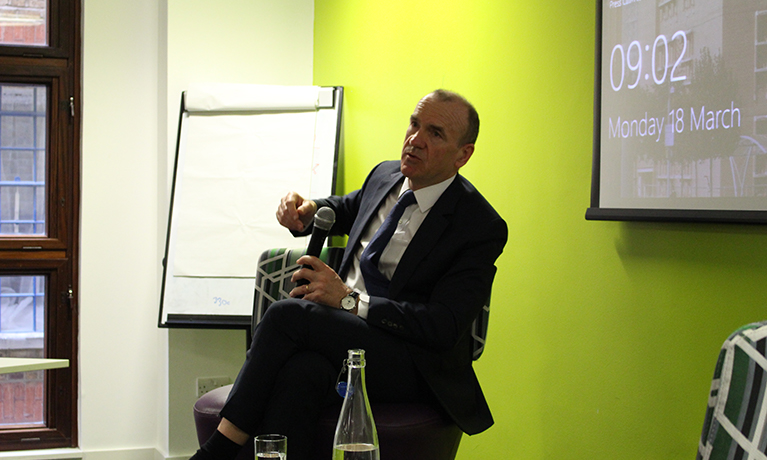 Sir Terry Leahy, Ex-Tesco CEO, inspires students with Q&A session