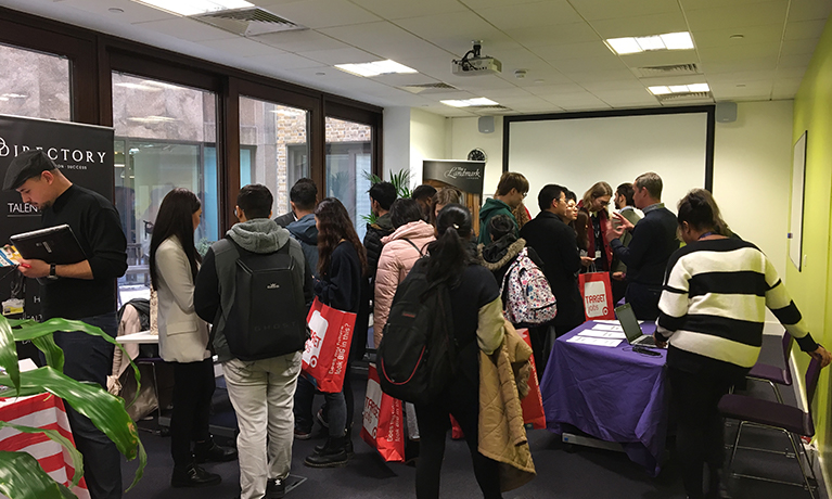 Coventry University London's Inaugural Job Fair a Big Success