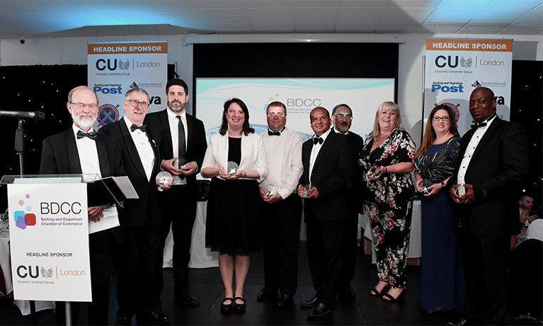 CU London helps the best in the Barking and Dagenham business world celebrate their success