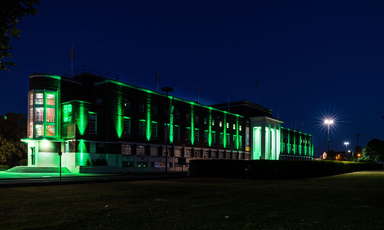 CU London goes green for Grenfell