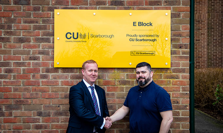 CU Scarborough sponsors local sixth form college