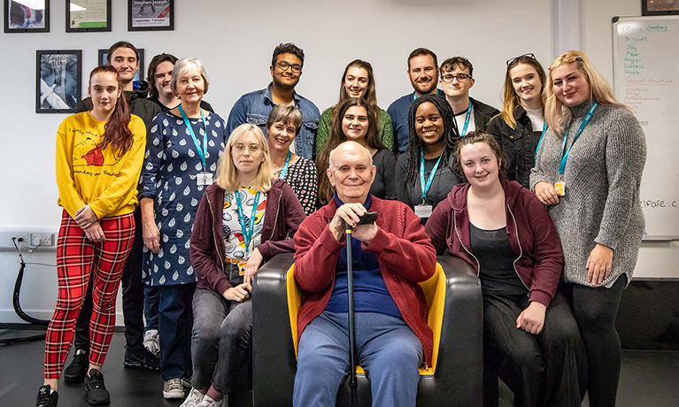 Sir Alan Ayckbourn opens new theatre space at CU Scarborough