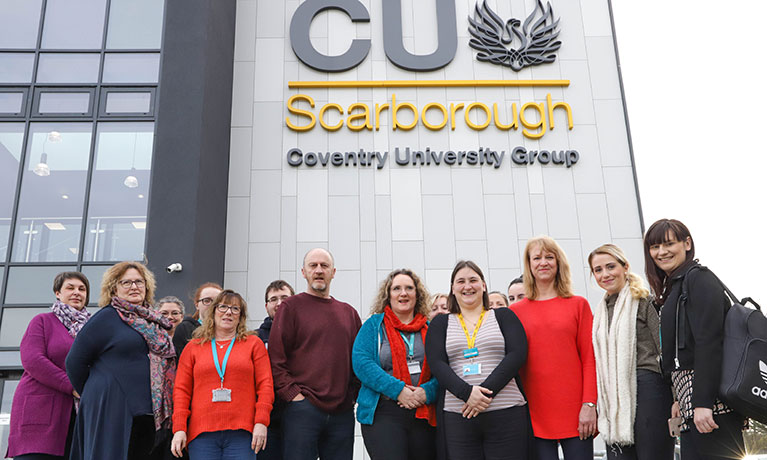 Scarborough students arrange danceathon to raise money for charity