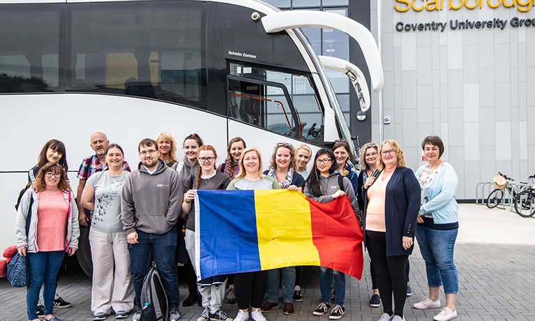 Staff and students set to deliver aid to Romania