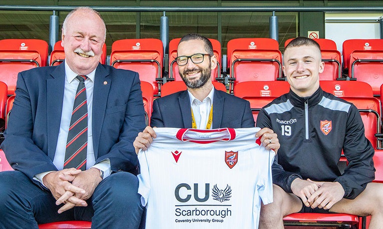 CU Scarborough sponsors SAFC kit for third season