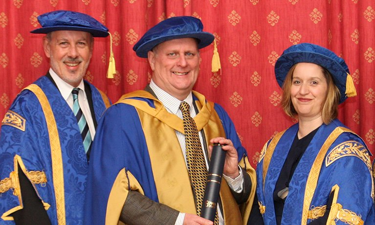 Key figure in Scarborough's regeneration recognised with Honorary Doctorate