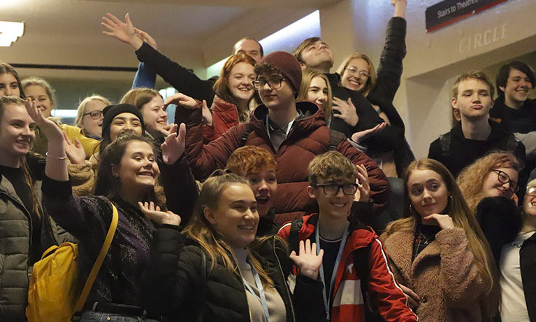 College students enjoy Acting degree taster day at CU Scarborough