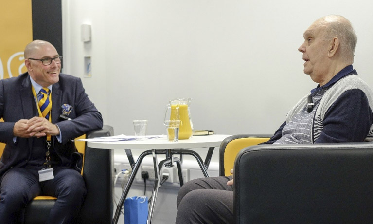 Award-winning playwright Sir Alan Ayckbourn visits CU Scarborough