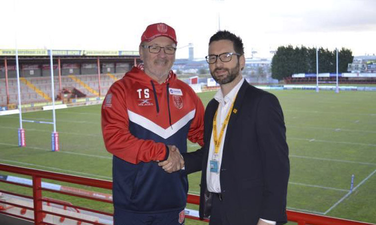 CU Scarborough sponsors Hull Kingston Rovers