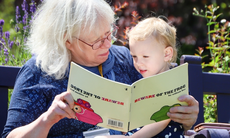 CU Scarborough students hone teaching skills by storytelling in the park