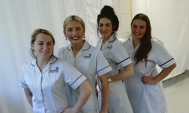 First cohort of students start new Adult Nursing degree