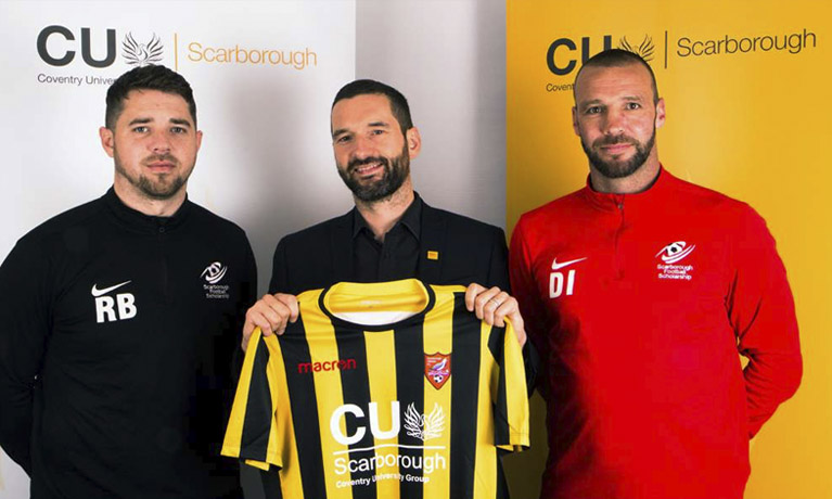 CU Scarborough supports new SAFC U19 squad