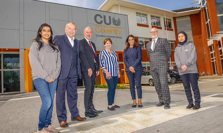 CU Coventry's game-changing learning model the focus at new campus launch