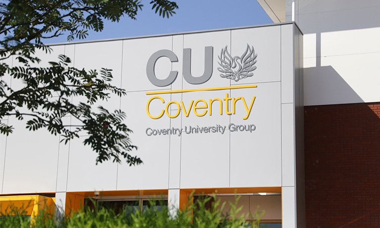 Coventry University Group suspends face-to-face teaching