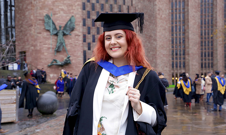 Graduate's life-changing experience at CU Coventry