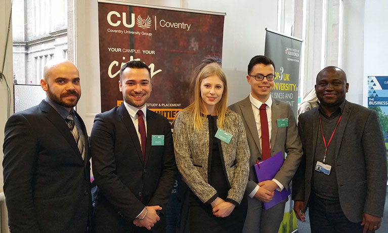 CU Coventry students triumph in sales competition