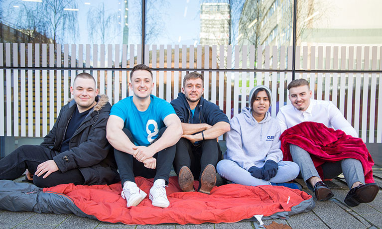 Students set to hold a sleepout to fundraise for homeless