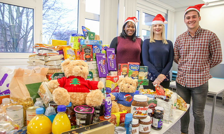 CU Coventry supports Harnall Lifehouse with Christmas food drive