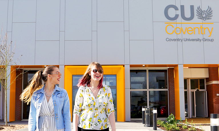 CU Coventry's new £33 million campus opens to students