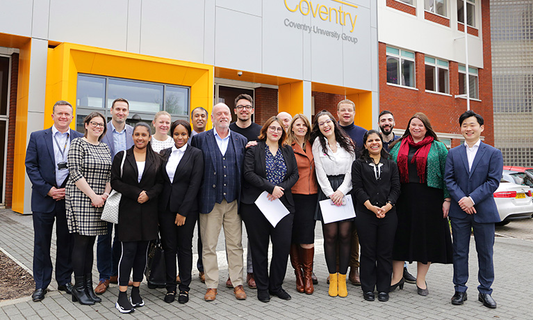 Springboard Charity links up with CU Coventry to provide mentors for tourism students