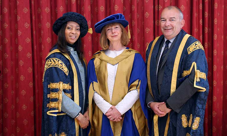Coventry University awards Honorary Doctorates to a leading neuroscientist and a Dutch politician