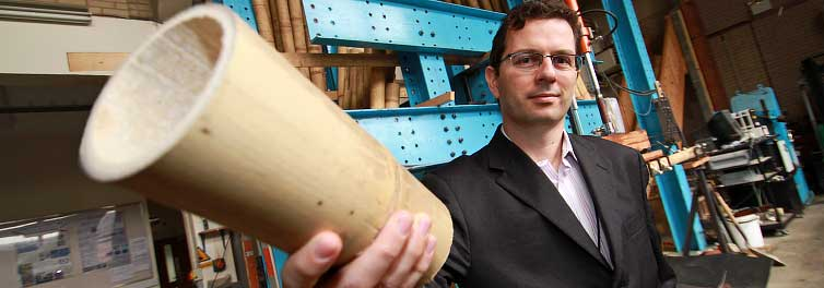 Coventry Uni links up with USA to boost bamboo construction