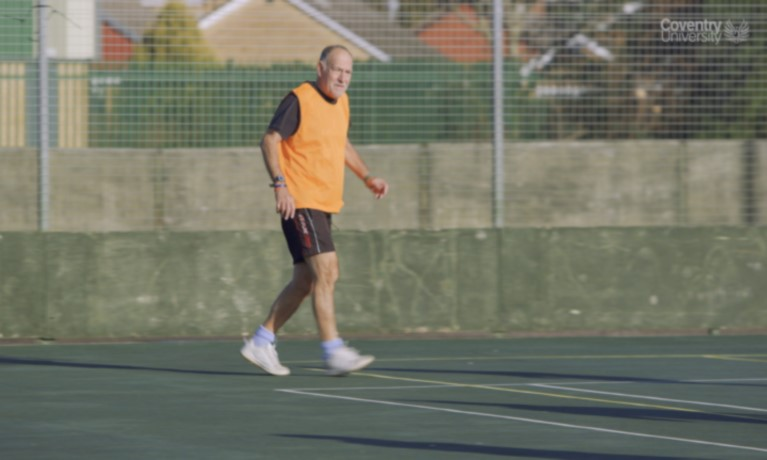 New project promotes fitness football for over 60s