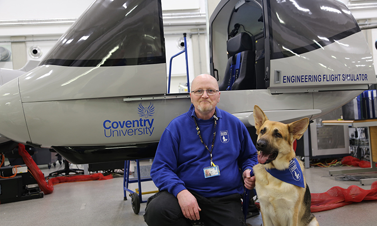 Coventry University spreads its wings to raise money for Guide Dogs