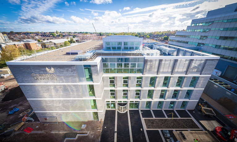 Coventry University building recognised with esteemed construction award
