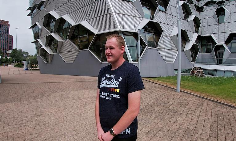 Coventry University student Harrison Childs