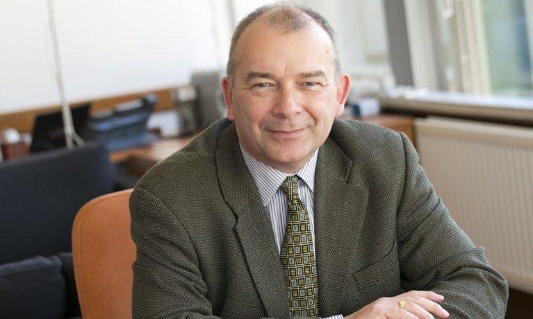 Coventry University Vice-Chancellor Professor John Latham CBE