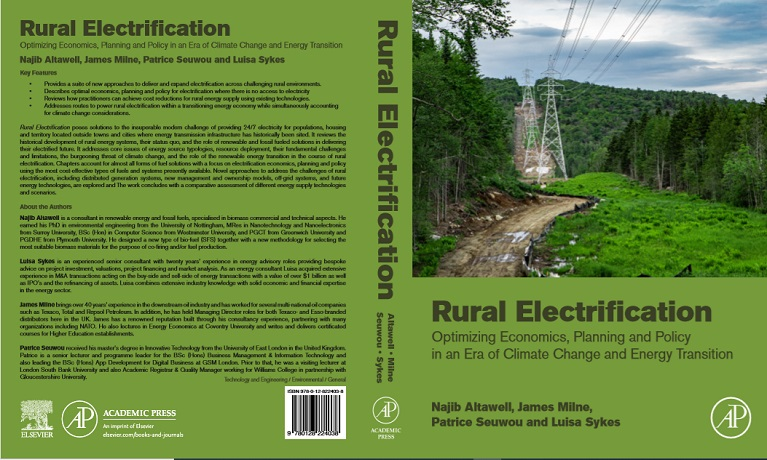 Coventry University academics launch book that provides solutions to rural electrification challenges