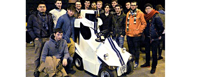 Coventry students design 'world's smallest car' for Top Gear