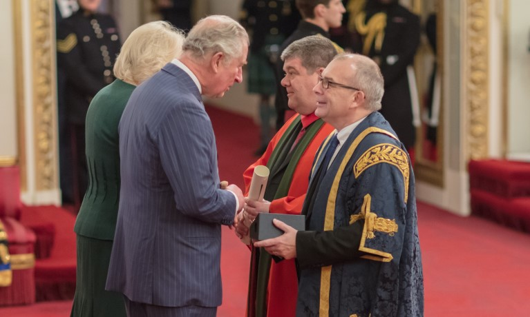 Coventry University receives the Queen's Anniversary Prize