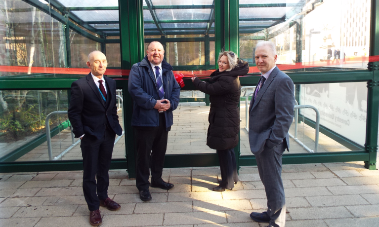 Coventry University opens new secure city centre cycle hub
