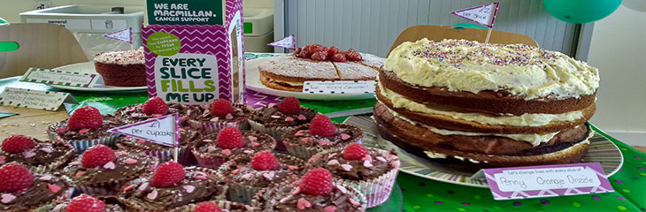 Coventry University gets baking for cancer care