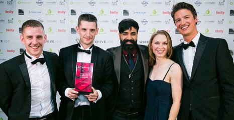Graduate's company wins fastest growing agency award