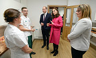 Duke and Duchess of Cambridge open Coventry University's Science and Health Building