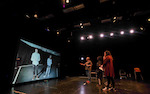 Shakespeare performed live by actors 1,600 miles apart in world first through university's 'Stargate'-style cyber stage