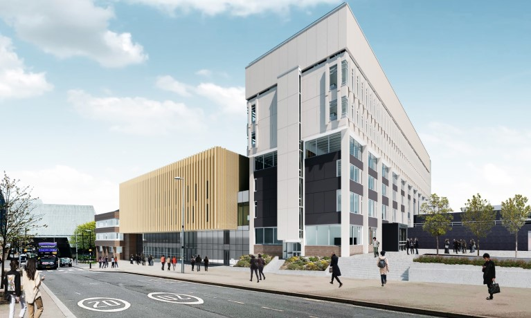 Coventry University starts work on new state-of-the-art facilities and public gallery