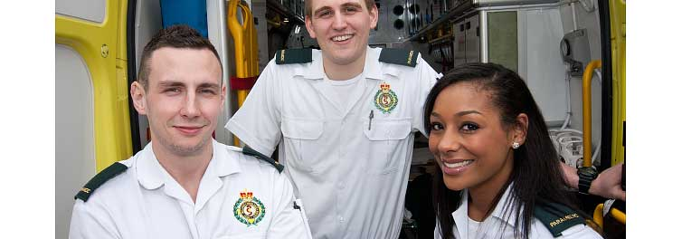 Coventry University paramedic graduates star in BBC show