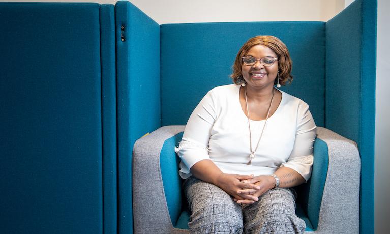 CU London student Grace Daramola