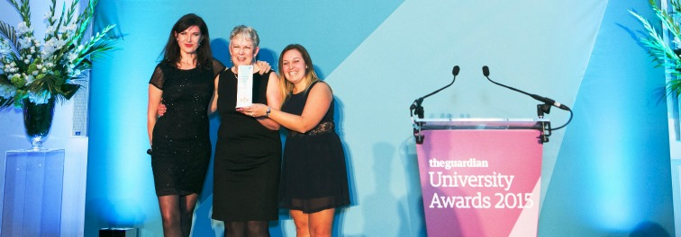 Coventry's work experience programme voted country's best at Guardian university awards