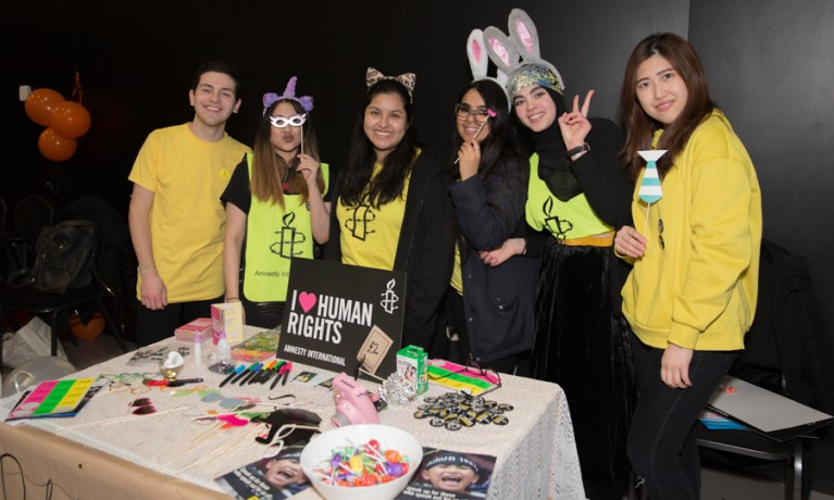 Students raise over £2000 for worthy causes at annual business fair