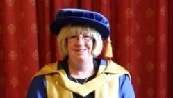 University honours Carmel's lifelong commitment to midwifery and nursing
