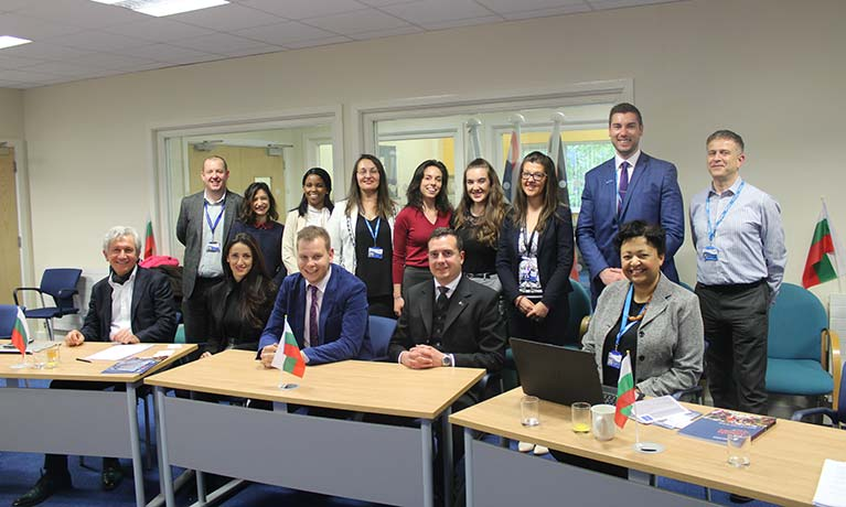 Coventry University fosters closer relations with Bulgaria