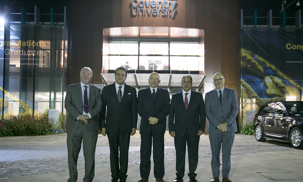 Coventry University and Egypt strengthen links with ministerial visit