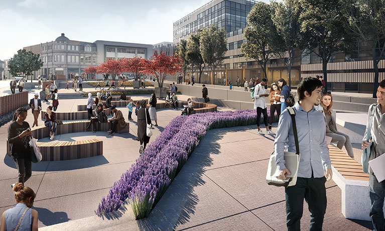 Works on exciting city centre project kick off at Coventry University's iconic James Starley site